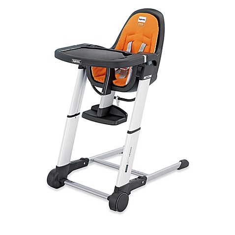 Inglesina Zuma High Chair in Orange/Grey