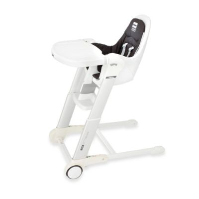 Inglesina® Zuma White High Chair in Graphite