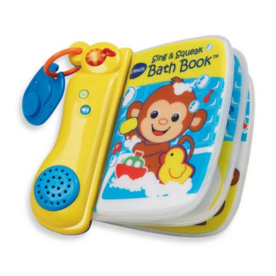 V-Tech® Sing & Squeak Bath Book