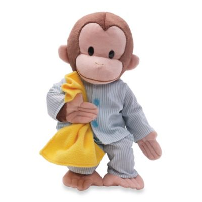 Curious George in Pajamas Plush Figure