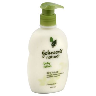 Johnson's® Naturals 9-Ounce Baby Lotion