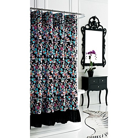 72-Inch x 72-Inch Watermark Shower Curtain
