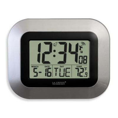 La Crosse Technology Atomic Clock with Temperature