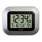 La Crosse® Atomic Clock with Temperature
