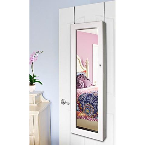 buy door hanging mirrors from bed bath beyond. Black Bedroom Furniture Sets. Home Design Ideas