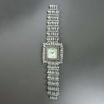 Beaded Wristwatch Wall Clock