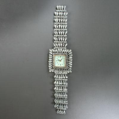 Beaded Wristwatch Wall Clock
