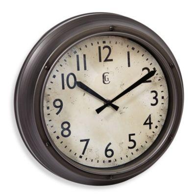 Geneva Screw Accent Wall Clock