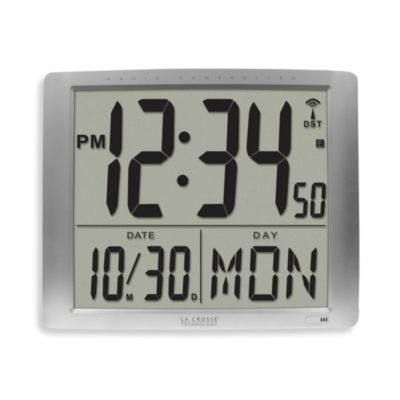 La Crosse Technology Extra Large Atomic Digital Wall Clock