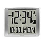 La Crosse® Extra Large Atomic Digital Wall Clock