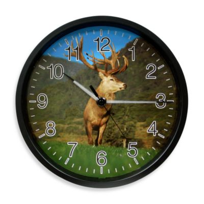 La Crosse Technology Illuminations Wildlife Elk Clock
