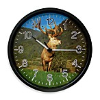 La Crosse® Illuminations Wildlife Elk Clock