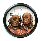 La Crosse® Illuminations Wildlife Puppy Clock