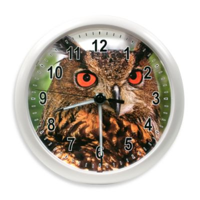 La Crosse Technology Illuminations Wildlife Owl Clock