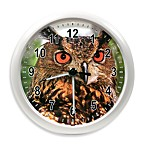 La Crosse® Illuminations Wildlife Owl Clock