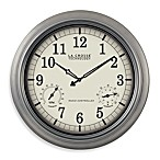 18-Inch Atomic Wall Clock with White Dial