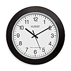 La Crosse® Atomic Wall Clock With Black Frame