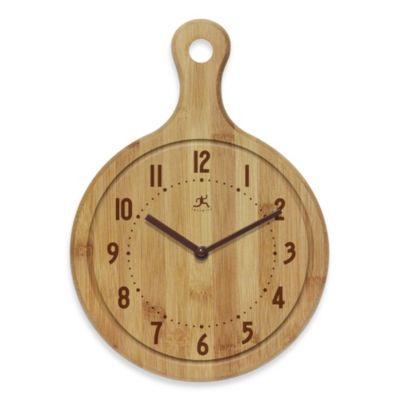 Infinity Instruments Bon Appetit Wall Clock