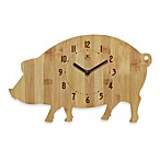 Pork Chop Wall Clock