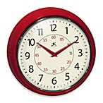Retro Redux Red Wall Clock