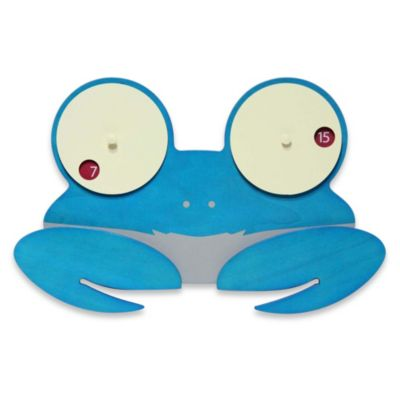 Shelly Crab Eyes Wall Clock