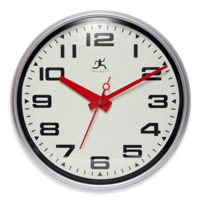 Infinity Instruments Lexin ton Avenue Wall Clock
