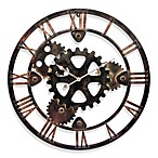 Daily Grind Metal Wall Clock