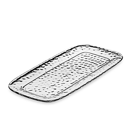 Hammered Vasaio 17-Inch Appetizer Tray