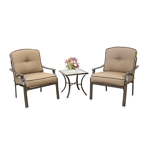 3-Piece Deep Seating Set