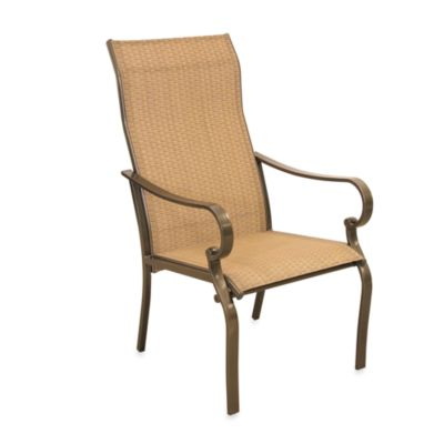 Oversized Sling Chairs in Tan (Set of 2)