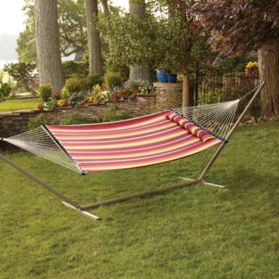 Stripe Hammock with Pillow
