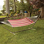 Striped Hammock with Pillow