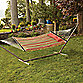 Reversible Quilted Hammock with Pillow