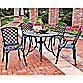 Crosley 5-Piece Sedona Outdoor Dining Set in Black