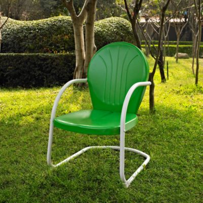 Griffith Metal Chair in Grasshopper Green