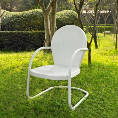 Griffith Metal Chair in White