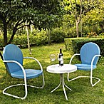 Crosley Griffith 3-Piece Metal Outdoor Seating Set