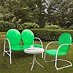 Griffith 3-Piece Metal Outdoor Seating Set