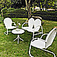 Griffith 4-Piece Metal Outdoor Seating Set