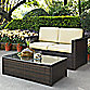 Crosley Palm Harbor 2-Piece Outdoor Wicker Seating Set