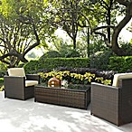 Palm Harbor Collection 3-Piece Outdoor Wicker Seating Set