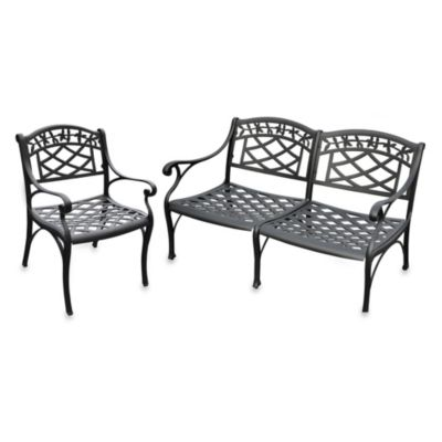Black Patio Furniture Sets