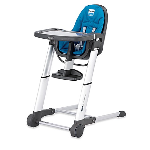 Inglesina Zuma High Chair in Light Blue/Grey
