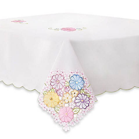 Sundial 52-Inch x 70-Inch Tablecloth