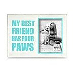 Sixtrees My Best Friend has Four Paws 5-Inch x 7-Inch Photo Frame