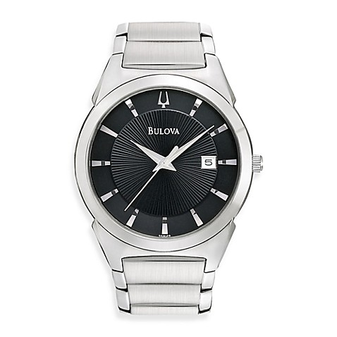 Bulova Men's Dress Classic Silver Watch