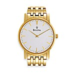 Bulova Men's Dress Classic Goldtone Watch