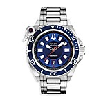 Bulova Men's Catamount Silver Sporty Dress Watch