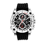 Bulova Men's Precisionist Black Chronograph Watch
