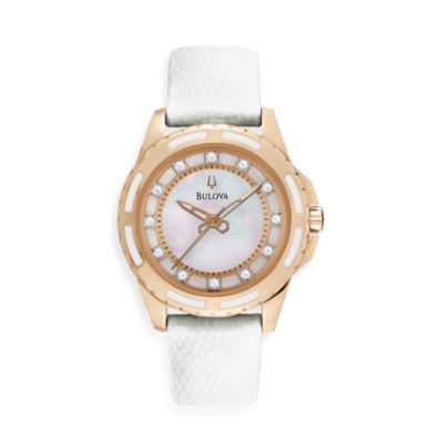 Bulova Women's Diamond Strap Watch